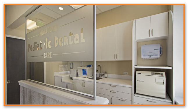 Office at Montclair Pediatric Dental Care Near Clifton
