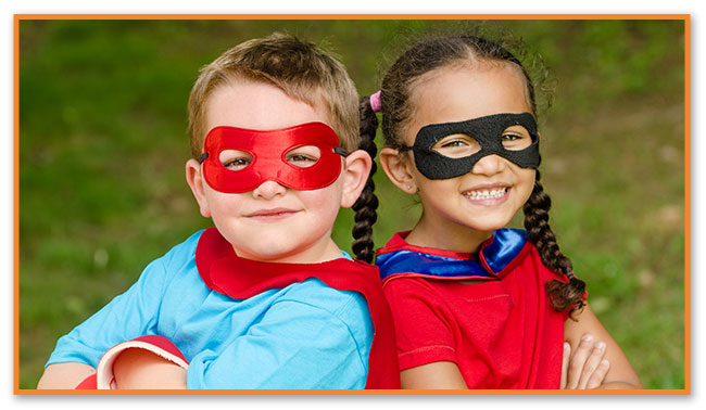 Super Hero Kids - Montclair Pediatric Dental Near Glen Ridge